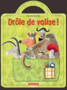 Drôle de valise, Claudia Bielinsky, Casterman, 16 pages, 13,50 €. Dès 12 mois.
