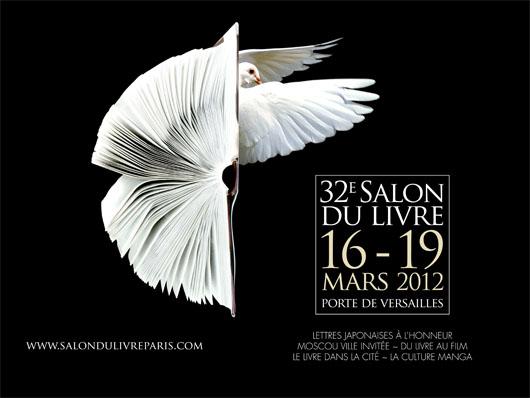 Première journée au Salon du livre de Paris 2012