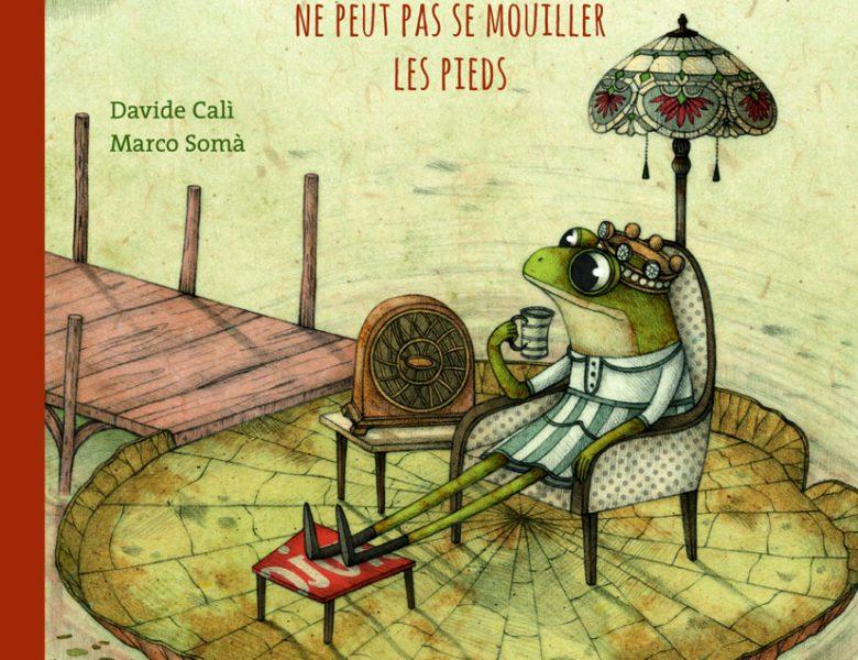 La reine des grenouilles de Davide Cali et Marco Soma, Rue du Monde