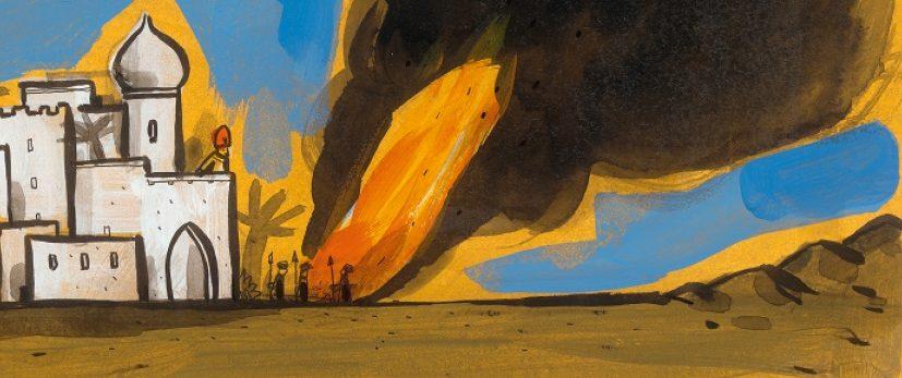 Le grand incendie, Gilles Baum et Barroux, Les Éléphants