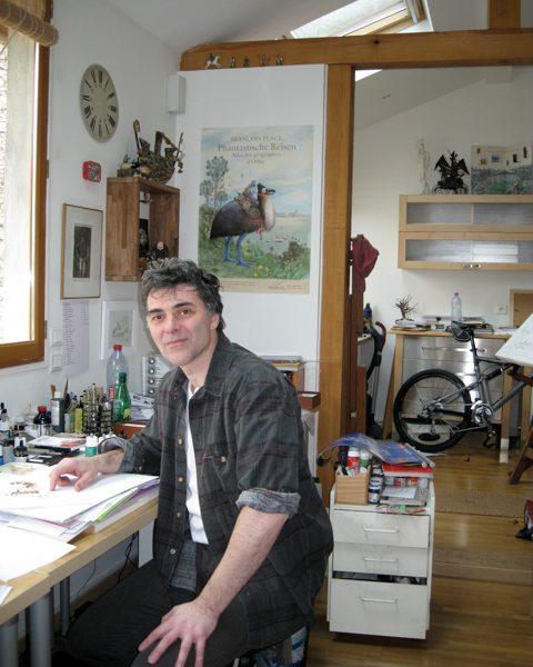 François Place raconte ses premières sensations de petit garçon aux adultes