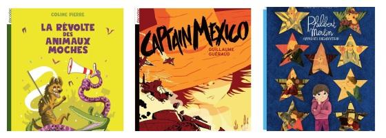 La Révolte des animaux, Captain Mexico, Philibert Merlin… trois dacodac à ne pas manquer