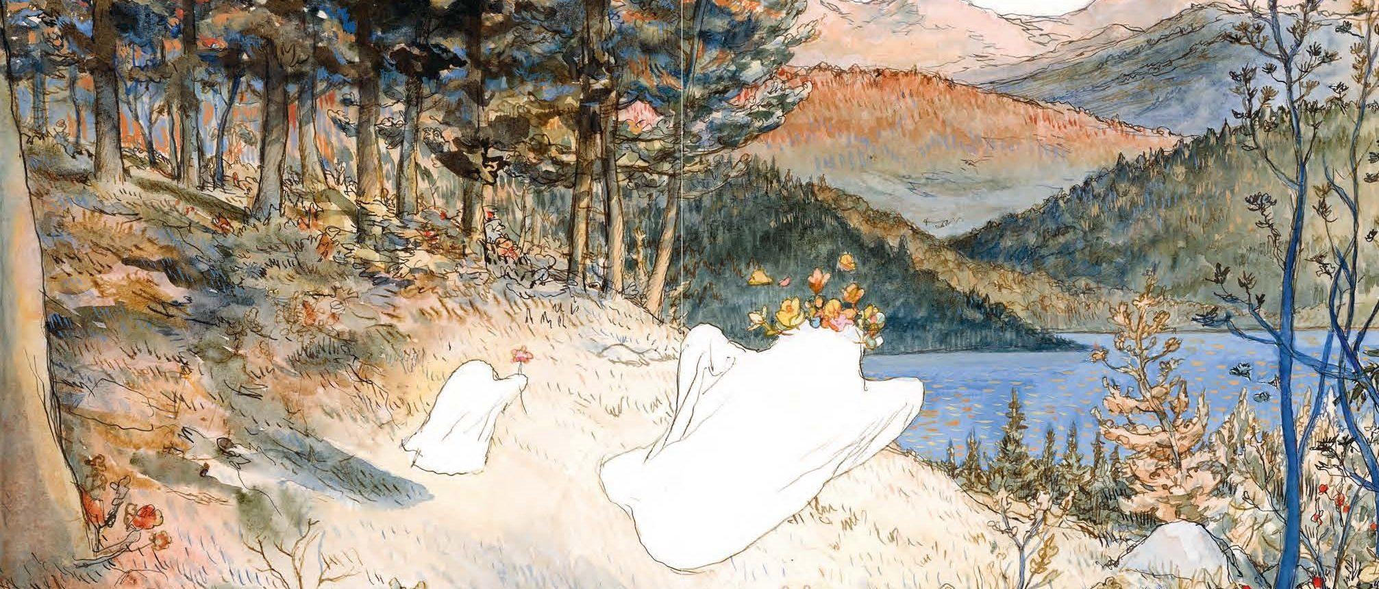 Les Amours d'un fantôme en temps de guerre, Nicolas de Crécy, Albin Michel