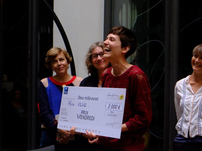 Flore Vesco remporte le Prix Vendredi grâce à son Estrange Malaventure de Mirella