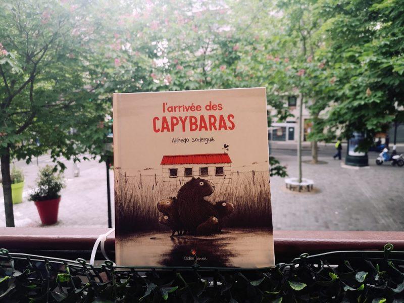 L'arrivée des capybaras, Alfredo Soderguit, Didier jeunesse