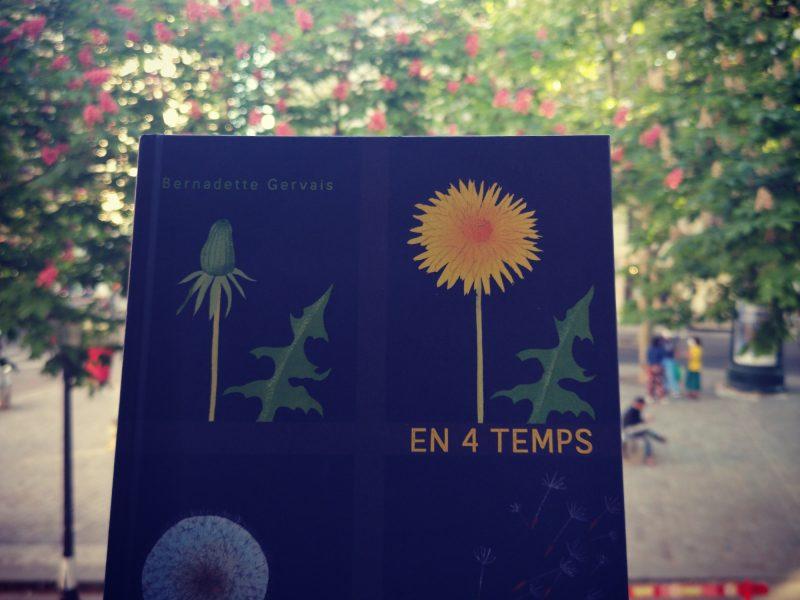 En 4 temps, Bernadette Gervais, Albin Michel Jeunesse