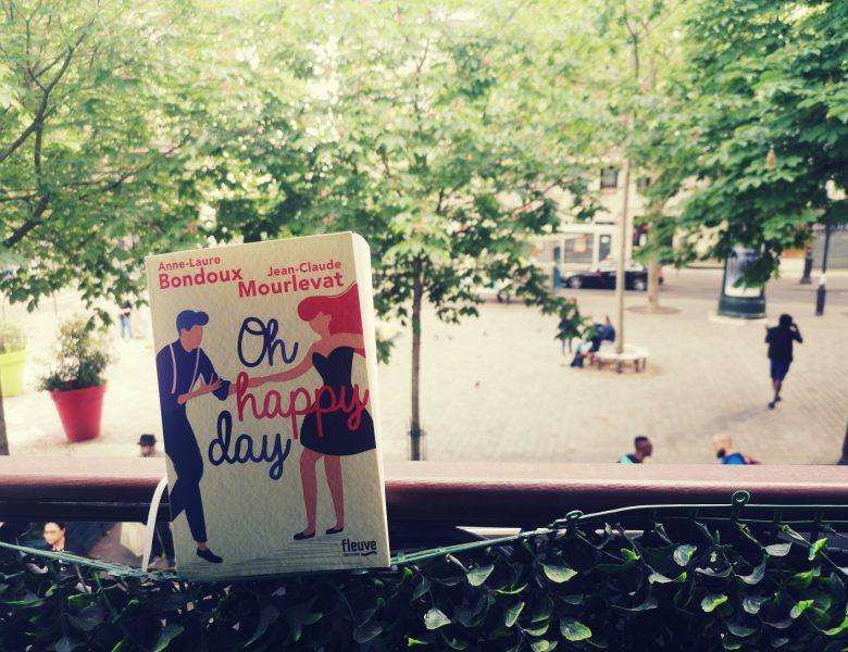 Oh Happy day, un roman épistolaire écrit par un imprévisible duo