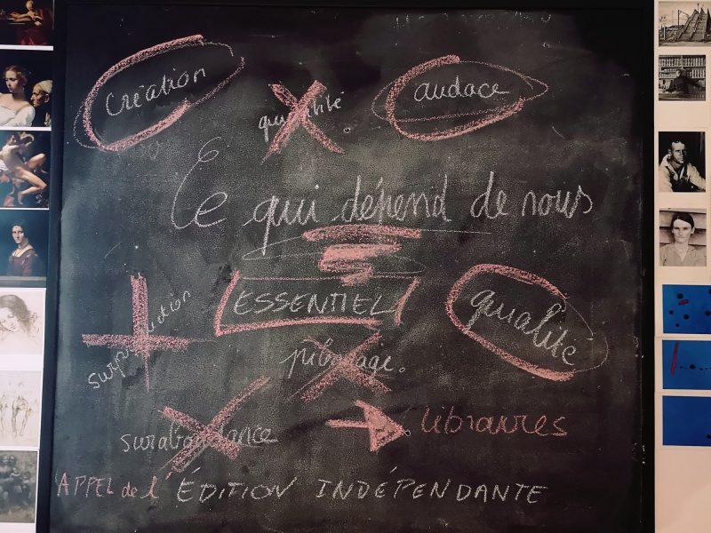 «Ce qui dépend de nous», l'appel des éditeurs indépendants