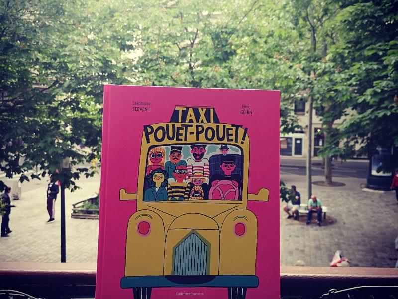 Taxi pouet-pouet, l'album explosif de Stéphane Servant et Élisa Géhin