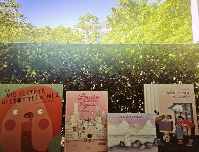 Une sélection de 4 albums disponibles tout de suite en librairie
