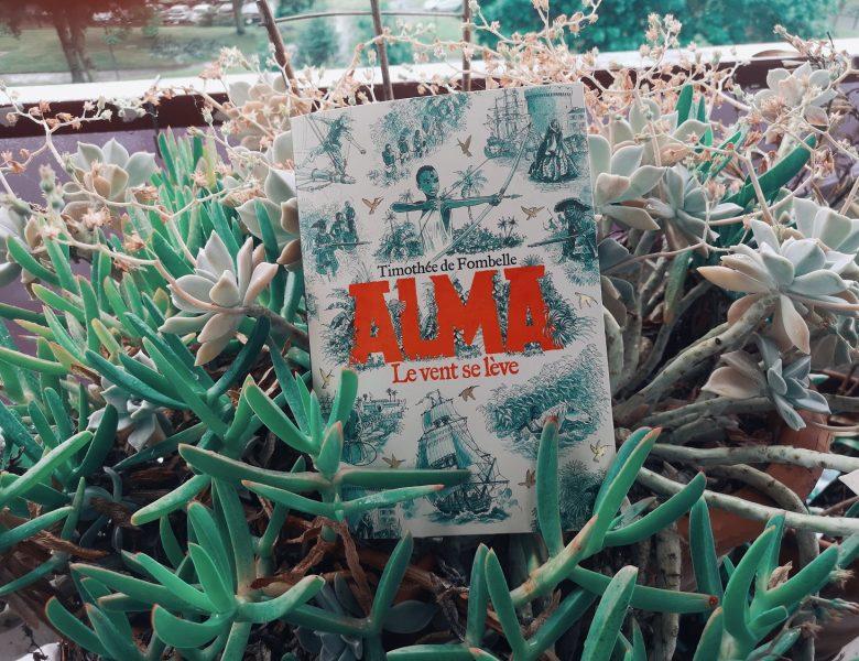 Alma, le vent se lève, Timothée de Fombelle, Gallimard jeunesse
