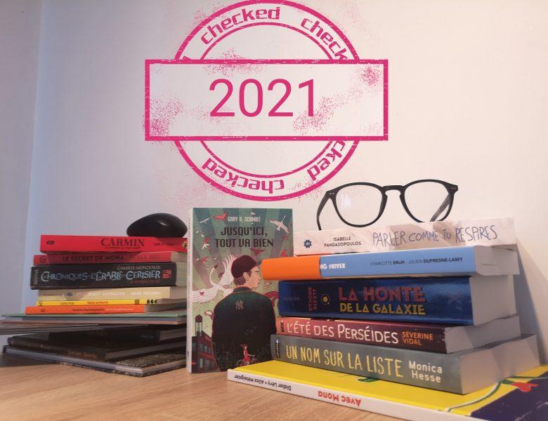 Que l'année 2021 soit belle et littéraire